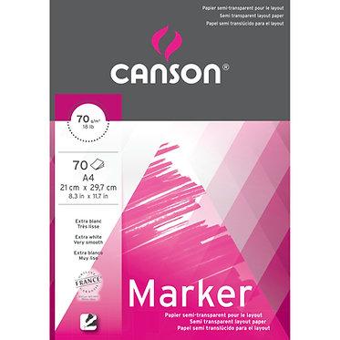 Bloc papier MARKER LAYOUT de Canson