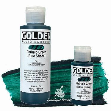 Golden Fluide Acryl - Phtalo Green (bleu shade) S4