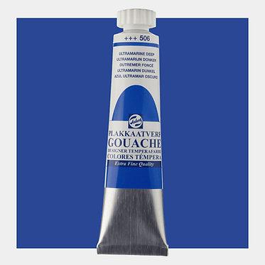 Gouache Extra-fine Quality Talens - Ultramarine foncé 506