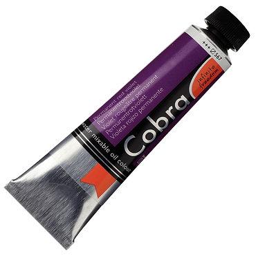 COBRA ARTIST Huile diluable à l'eau Violet Rouge perm. S3-567