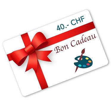 Carte-Cadeau Valeur 40