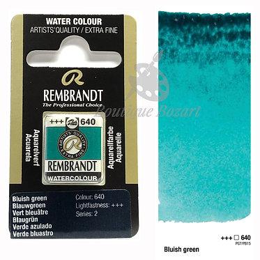 Aquarelle Extra-fine Rembrandt - Vert Bleuâtre 640 série 2