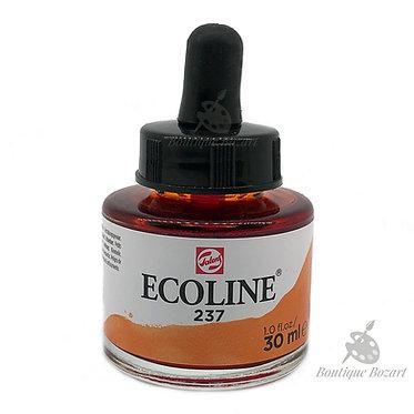 Encre Aquarelle Ecoline 30ml Orange Foncé 237