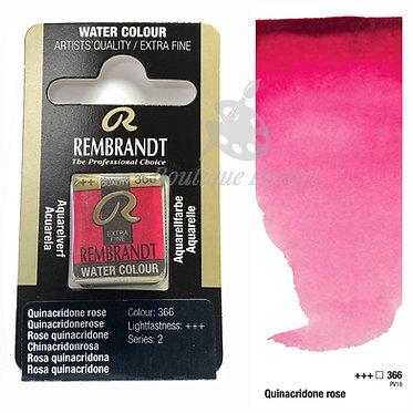 Aquarelle Extra-fine Rembrandt - Rose Quinacridone 366 série 2