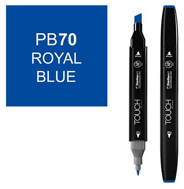 Touch Twin Brush / Marker PB70 ROYAL BLUE