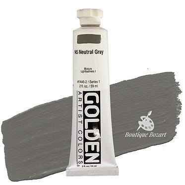 Acrylique Golden Heavy Body 59ml Gris Neutre N5 445 S1