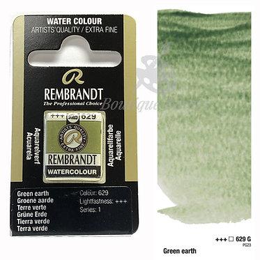 Aquarelle Extra-fine Rembrandt - Terre Verte 629G série 1