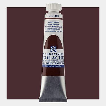 Gouache Extra-fine Quality Talens - Ombre brûlée 409