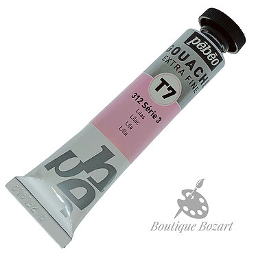 Gouache T7 de Pébéo 20 ml Lilas 312 Série 3