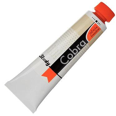 Huiles dilluable à l'eau Cobra Study Buff Titane 291