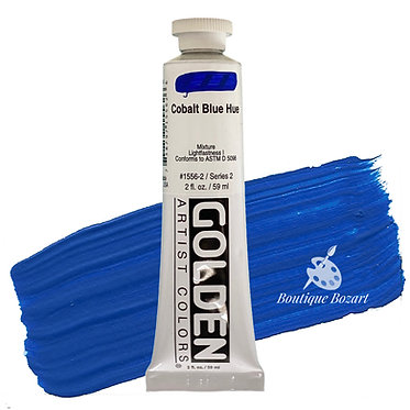 Acrylique Golden Heavy Body 59ml Bleu Cobalt Hue 556 S2