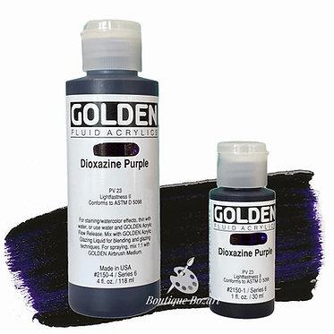 Golden Fluide Acryl - Dioxazine Purple S6