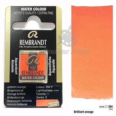 Aquarelle Extra-fine Rembrandt - Orange Brillant 264 série 2