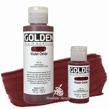 Golden Fluide Acryl - Violet Oxide S1