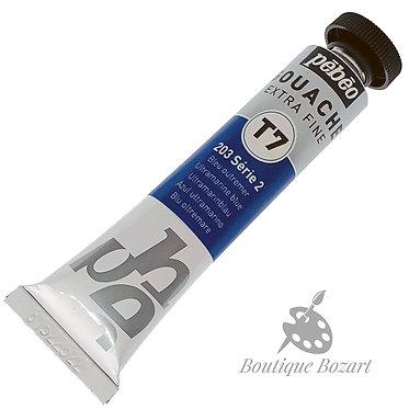 Gouache T7 de Pébéo 20 ml Bleu Outremer 203 Série 2