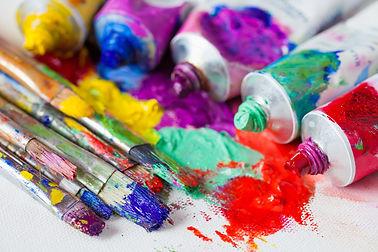 Peinture beaux-arts, huiles, acrylique, aquarelles, gouache