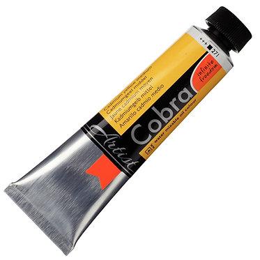 COBRA ARTIST Huile diluable à l'eau Jaune Cadmium Moy. S4-271