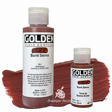 Golden Fluide Acryl - Burnt Sienna S1