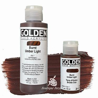 Golden Fluide Acryl - Burnt Umber Light S1