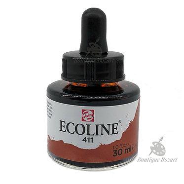Encre Aquarelle Ecoline 30ml Terre Sienne Brulée 411