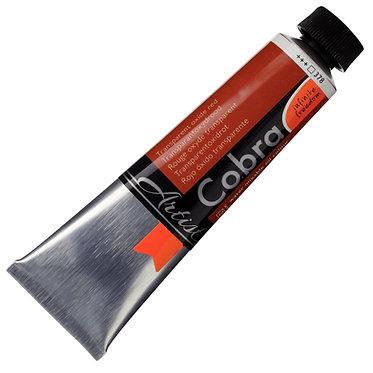 COBRA ARTIST Huile diluable à l'eau Rouge Oxyde Transp. S3-378