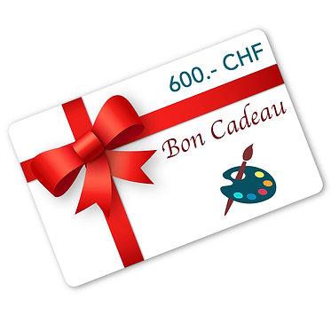 Carte-Cadeaux Valeur 600