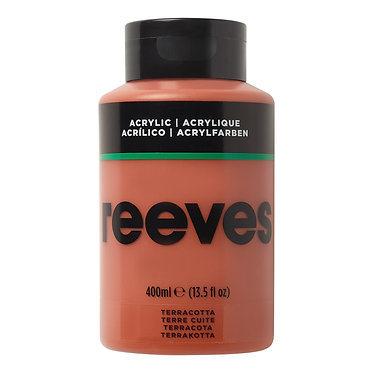 Acrylique fine Reeves 400ml Terre cuite