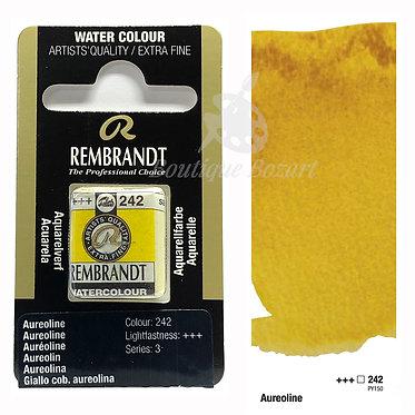 Aquarelle Extra-fine Rembrandt - Aureoline 242 série 3