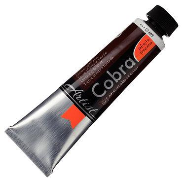 COBRA ARTIST Huile diluable à l'eau Terre d'Ombre brulée S2-409