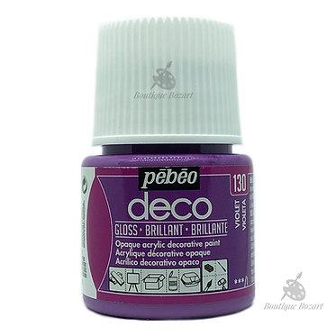 Peinture décorative opaque Deco Brillant Violet 130