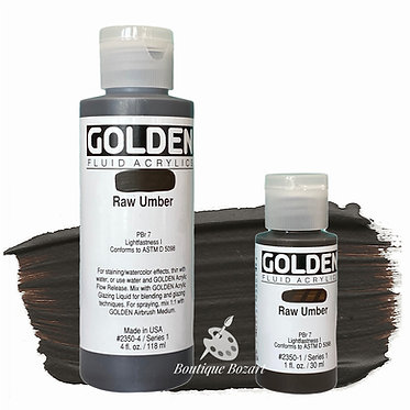 Golden Fluide Acryl - Raw Umber S1