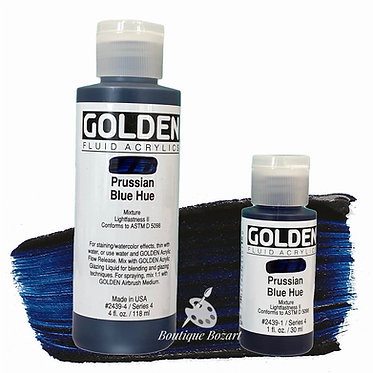 Golden Fluide Acryl - Prussian Blue Hue S4