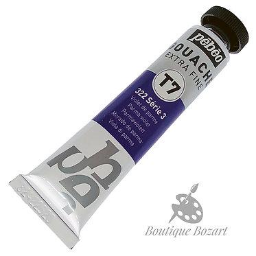 Gouache T7 de Pébéo 20 ml Violet de Parme 322 Série 3