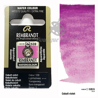 Aquarelle Extra-fine Rembrandt - Violet de Cobalt 539G série 3