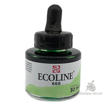 Encre Aquarelle Ecoline 30ml Vert Pastel 666