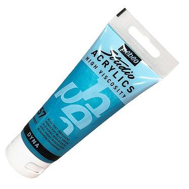 Acrylique Iridescente DYNA Pébéo 100ml Bleu Vert 357