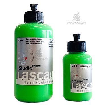 Acrylique Studio de Lascaux Vert permanent clair 954