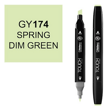Touch Marker GY174 SPRING DIM GREEN