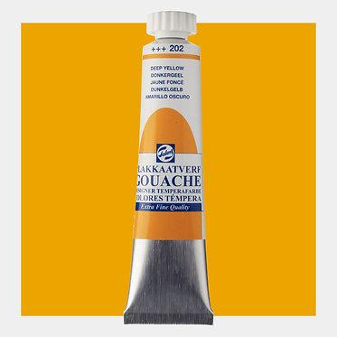 Gouache Extra-fine Quality Talens - Jaune foncé 202