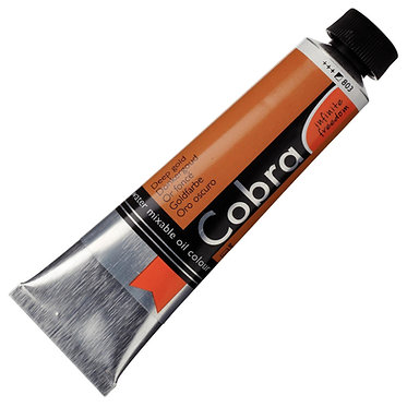COBRA ARTIST Huile diluable à l'eau Or Foncé S3-803