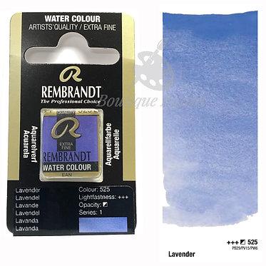 Aquarelle Extra-fine Rembrandt - Lavande 525 série 1