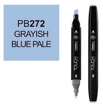 Touch Marker PB272 GRAYISH BLUE PALE