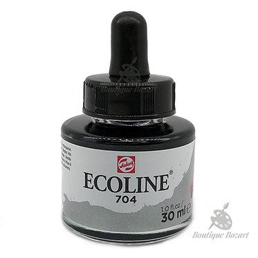 Encre Aquarelle Ecoline 30ml Gris 704
