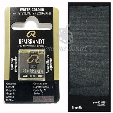 Aquarelle Extra-fine Rembrandt - Graphite 840 série 3