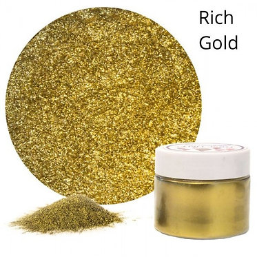Resi-TINT Poudre métallique Or Riche