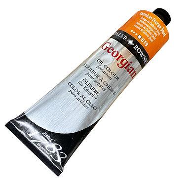 Huile Fine Georgian 225ml Orange Cadmium 619