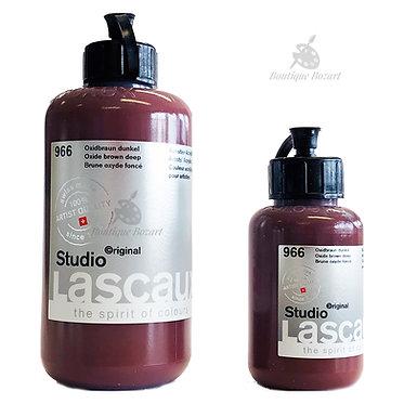 Acrylique Studio de Lascaux Brun oxyde foncé 966
