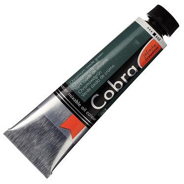 COBRA ARTIST Huile diluable à l'eau Vert Oxyde Chrome S4-668
