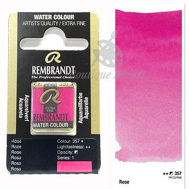 Aquarelle Extra-fine Rembrandt - Rose 357 série 1