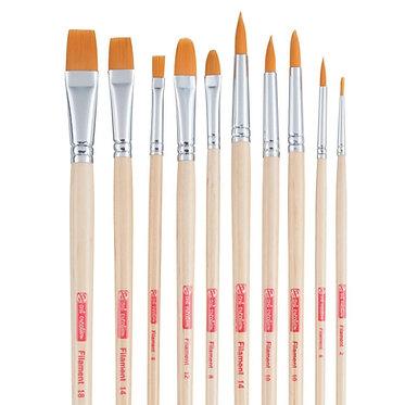 Set 10 pinceaux étude ArtCreation